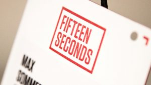 Fifteen Seconds Festival 2016